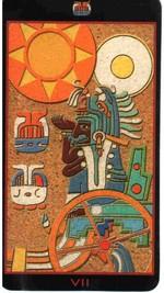 Tarot Maya -VII Le Chariot