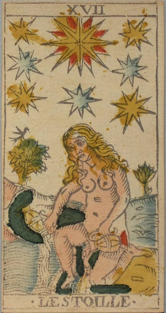 XVII L'Étoile - Le Tarot de François Chosson