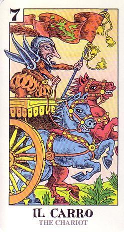 VII Le Chariot - Tarocco Bizarro