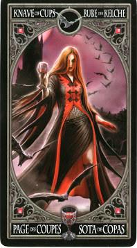 Gothic Tarot - Valet de Coupes