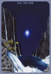 XVII L'Étoile - Le tarot d'Anna K.