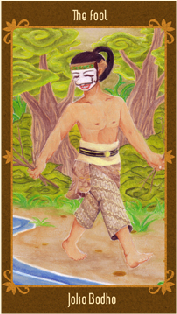Javanese Folktales Tarot - Le Fou