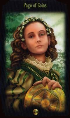 Valet de Deniers - Legacy of the Divine Tarot