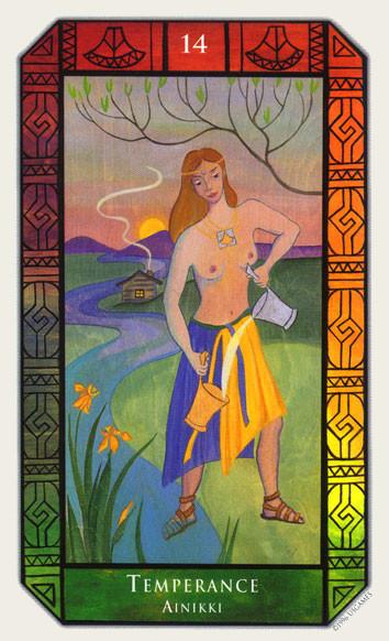 XIV Tempérance - Tarot Kalevala