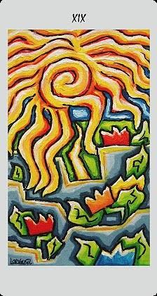 XIX Le Soleil - Langustl Tarot