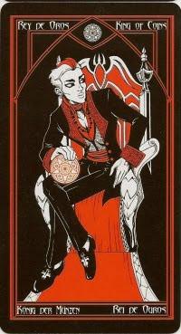 Roi de Deniers - Le tarot Cruel Thing