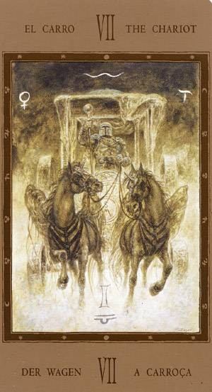 VII Le Chariot - Labyrinth Tarot