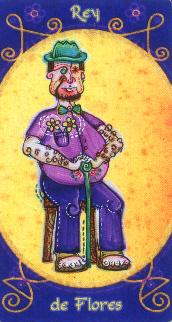 Roi de Fleurs - Tarot Macondo