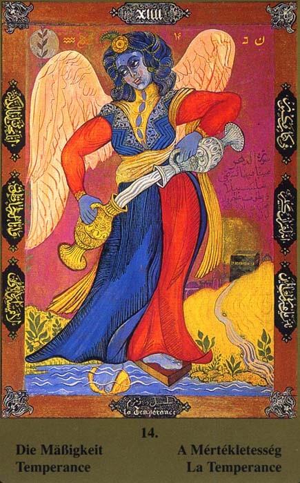 XIV Tempérance - Tarot Kazanlar