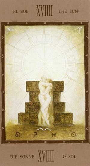 XIX Le Soleil - Labyrinth Tarot
