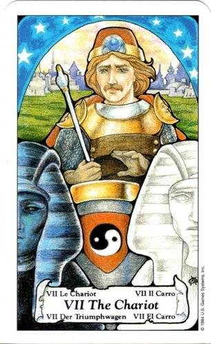 Tarot Hanson Roberts - VII Le Chariot