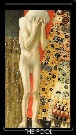Le Fou - Golden Tarot of Klimt