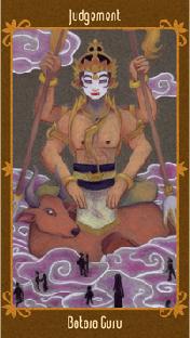 Javanese Folktales Tarot - XX Le Jugement