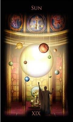 XIX Le Soleil - Legacy of the Divine Tarot