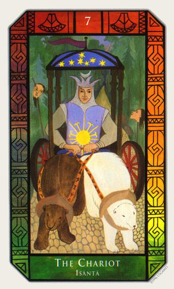 VII Le Chariot - Tarot Kalevala