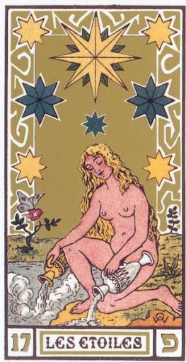 XVII L'Étoile - Le tarot d'Elisabeth Haich