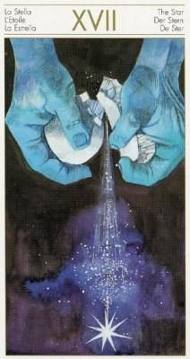 XVII L'Étoile - Tarot des Origines