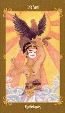 Javanese Folktales Tarot - XIX Le Soleil