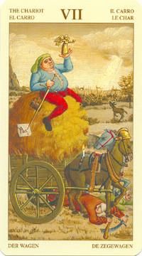 VII Le Chariot - Le tarot Bruegel