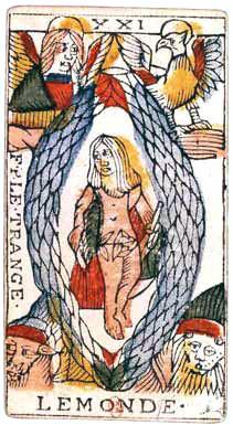 XXI Le Monde - Le Tarot de Jean Dodal