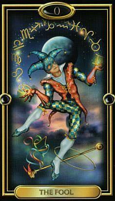Le Fou - The Gilded Tarot