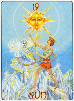 XIX Le Soleil - Gill Tarot
