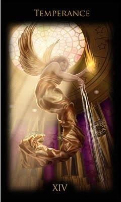 XIV Tempérance - Legacy of the Divine Tarot
