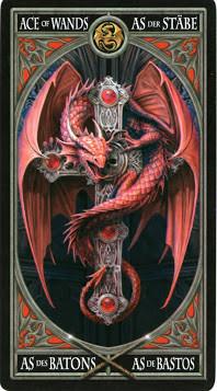 Gothic Tarot - As de Bâtons