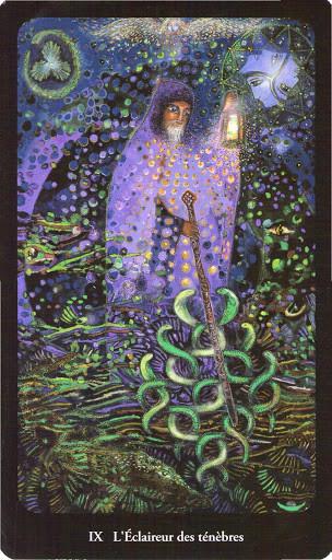 IX L'Hermite - Tarot de l'Ange Liberté
