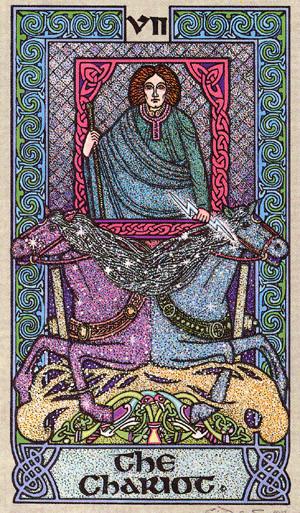 VII Le Chariot - Le tarot Celtique