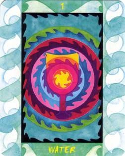 As d'Eau - Le Tarot des Quatre Éléments