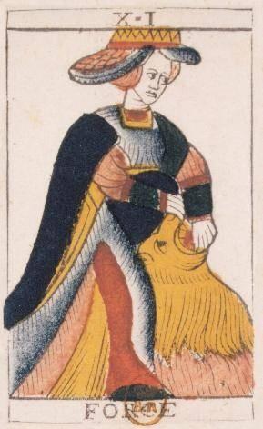 XI La Force - Le Tarot de Jean Noblet