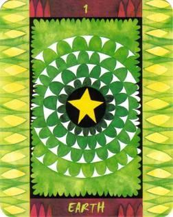 As de Terre - Le Tarot des Quatre Éléments