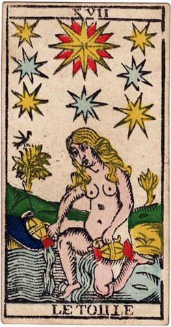 XVII L'Étoile - Le Tarot de Nicolas Conver