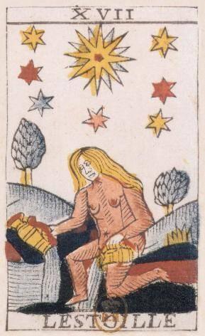 XVII L'Étoile - Le Tarot de Jean Noblet