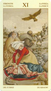 XI La Force - Le tarot Bruegel