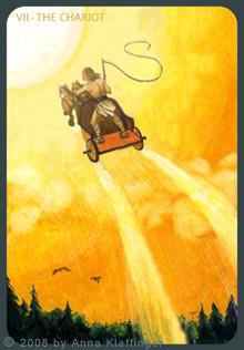 VII Le Chariot - Le tarot d'Anna K.