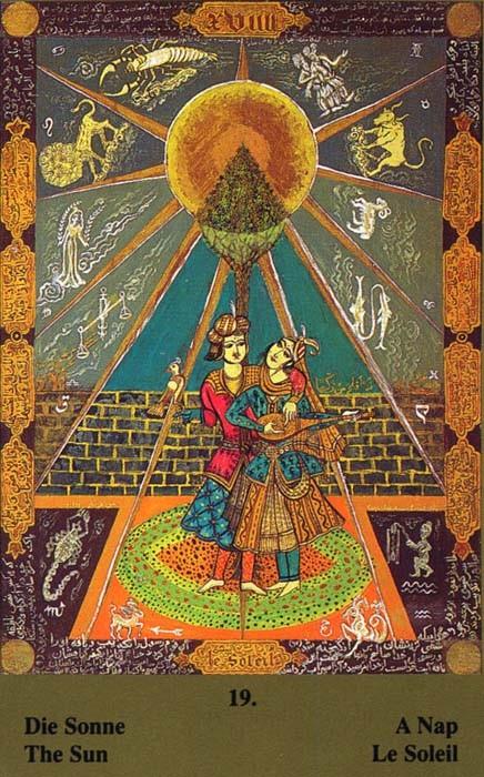 XIX Le Soleil - Tarot Kazanlar