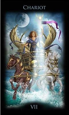VII Le Chariot - Legacy of the Divine Tarot