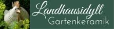 Landhausidyll-Gartenkeramik Banner klein