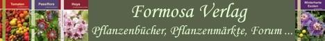 Formosa Verlag, Pflanzenbücher, Pflanzenmärkte