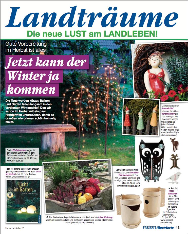 Presseveröffentlichung Freizeit Illustrierte