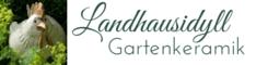 Banner klein Landhausidyll-Gartenkeramik