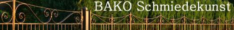 Schmiedekunst, geschmiedete Zäune und Deko
