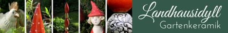 www.Landhausidyll-GartenkeramikOnline-Shop für Gartendeko aus Keramik