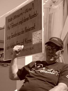 Wir machen Werbung für den Surfmuseums-Verein