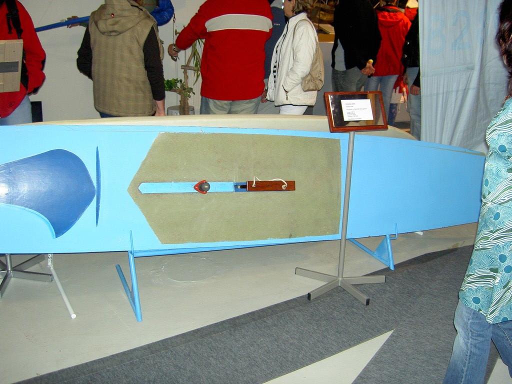 Eines der ersten polnischen Surfboards  2007