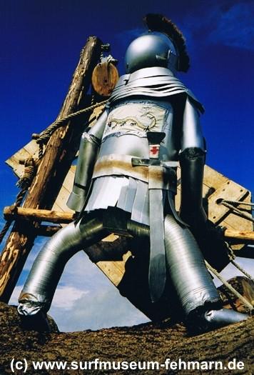 Auch Ritter haben schon gesurft