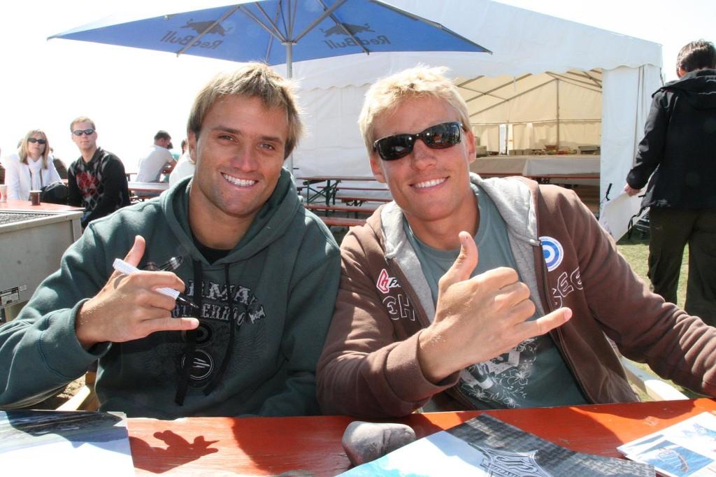 Kauli Seadi und Klaas Voget  2008