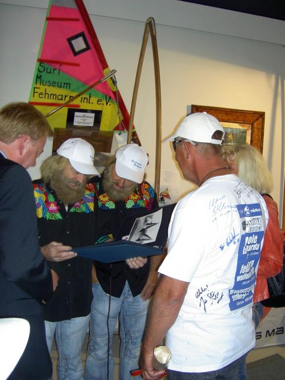 Auch Manfred und Jürgen staunen  2007